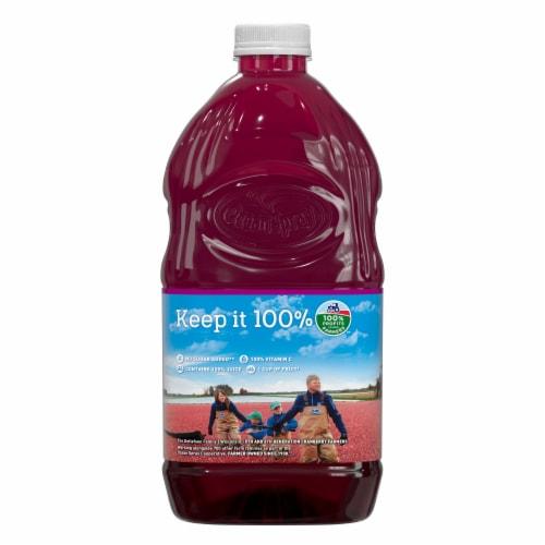 Ocean Spray® Cranberry Raspberry Juice Blend Perspective: back