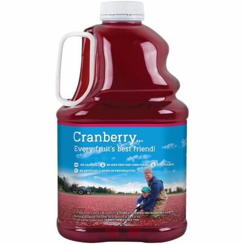 Ocean Spray Cran-Raspberry Juice Drink Perspective: back