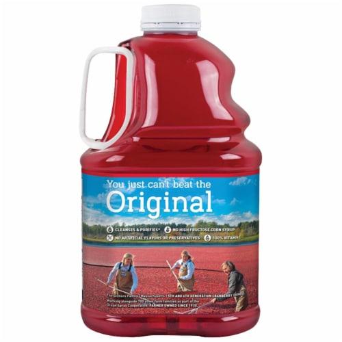 Ocean Spray Original Cranberry Juice Cocktail Perspective: back
