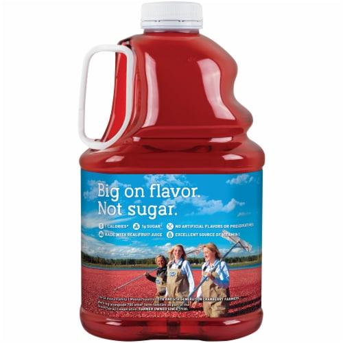 Ocean Spray Diet Cranberry Juice Perspective: back