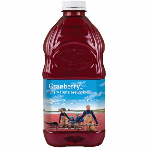 Ocean Spray Cran-Raspberry Juice Drink Perspective: back