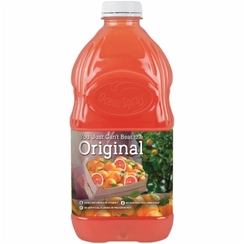 Ocean Spray Original Ruby Red Grapefruit Juice Drink Perspective: back