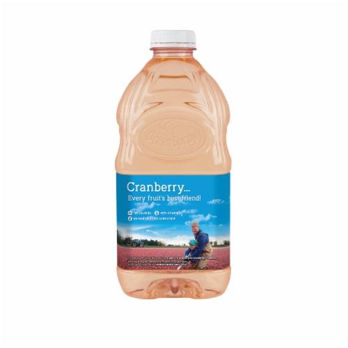 Ocean Spray White Cran-Peach Juice Drink Perspective: back