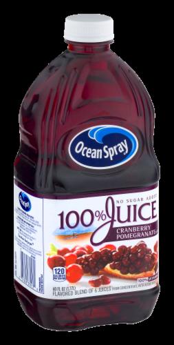 Ocean Spray 100% Cranberry Pomegranate Juice Perspective: back
