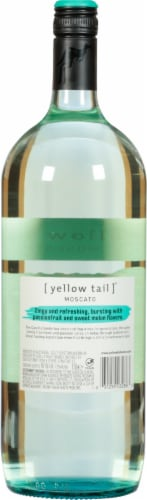 Yellow Tail® Moscato White Wine Perspective: back