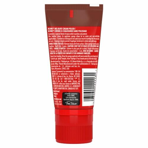 KIWI® Express No-Buff Cream Shoe Polish - Brown Perspective: back