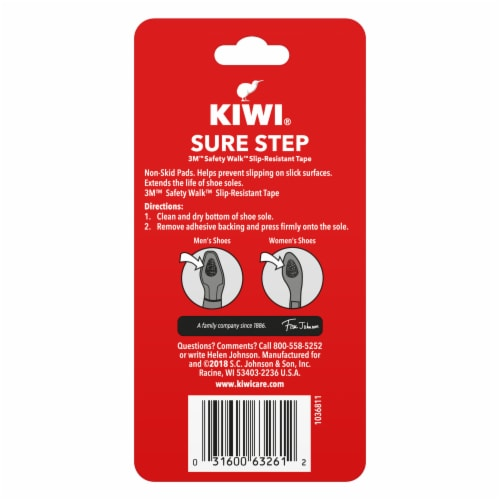 KIWI® Sure Step Non-Skid Pads - 2 Pack Perspective: back