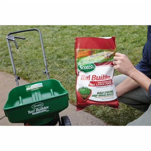 Scotts® Turf Builder WinterGuard Fall Lawn Food Perspective: back