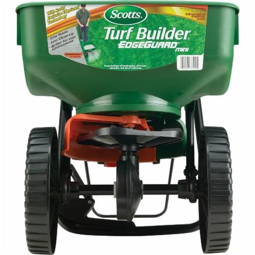 Scotts® Turf Builder EdgeGuard Mini Spreader - Green Perspective: back