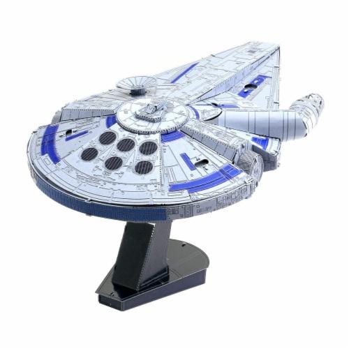 Fascinations Star Wars Lando's Millennium Falcon 3D Metal Model Kit Perspective: back