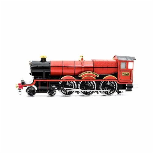 Fascinations Harry Potter Hogwarts Express Train 3D Metal Model Kit Perspective: back
