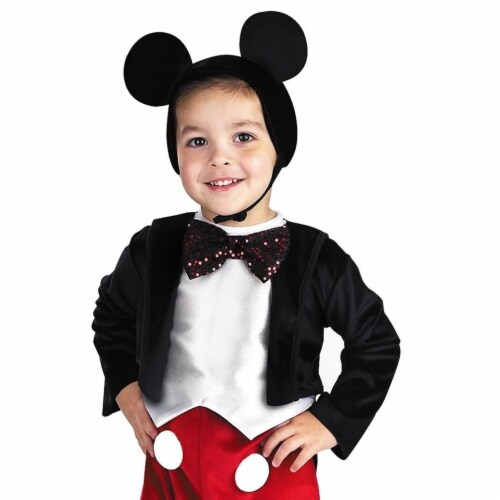 Mickey Mouse Deluxe Costume (4 - 6) Perspective: back