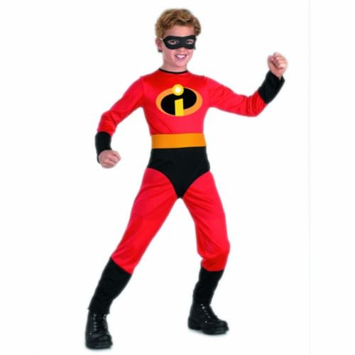 Disguise Dash Incredible Child Costume, (Size Medium 7-8) Perspective: back