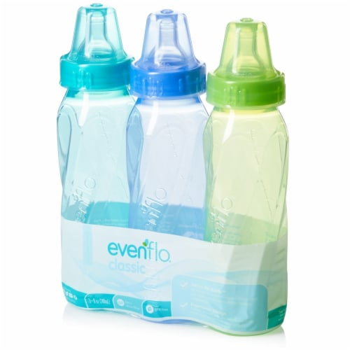 Evenflo Classic Tinted Nursing Bottles -Assorted Perspective: back