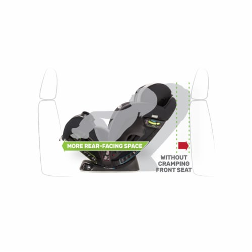 Evenflo EveryStage DLX Rear-Facing Convertible Car and Booster Seat, Latitude Perspective: back