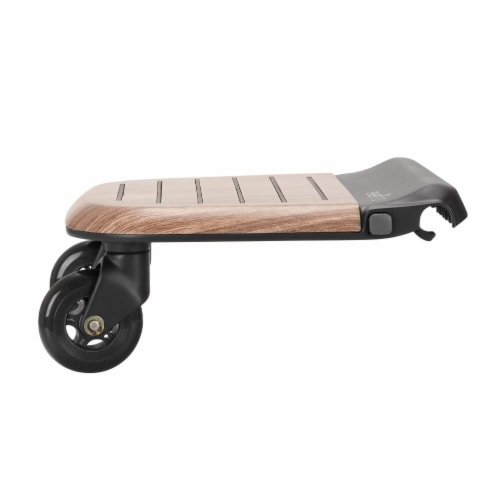 Evenflo Stroller Stand and Ride Rider Board Accessory Attachment Only, Wood Perspective: back