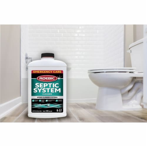 Roebic K-57 32 Oz. Emergency Care Septic Tank Treatment K57-Q-12 Perspective: back