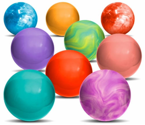 Hedstrom Multi Bouncy Playball - Assorted Perspective: back