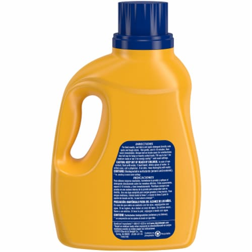 Arm & Hammer Clean Burst Liquid Laundry Detergent Perspective: back