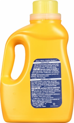 Arm & Hammer Plus Oxi Clean Fresh Scent Liquid Laundry Detergent Perspective: back