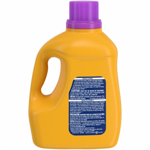 Arm & Hammer Plus OxiClean Stain Fighter with Odor Blasters Fresh Burst Laundry Detergent Perspective: back