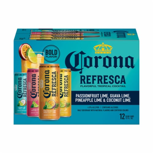 Corona® Refresca Variety Pack Perspective: back