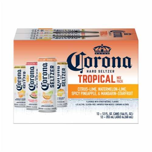 Corona Hard Seltzer Variety Pack Perspective: back