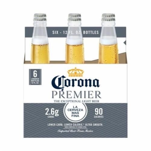 Corona Premier Lager Beer Perspective: back