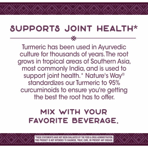 Nature's Way Turmeric Powder Perspective: back
