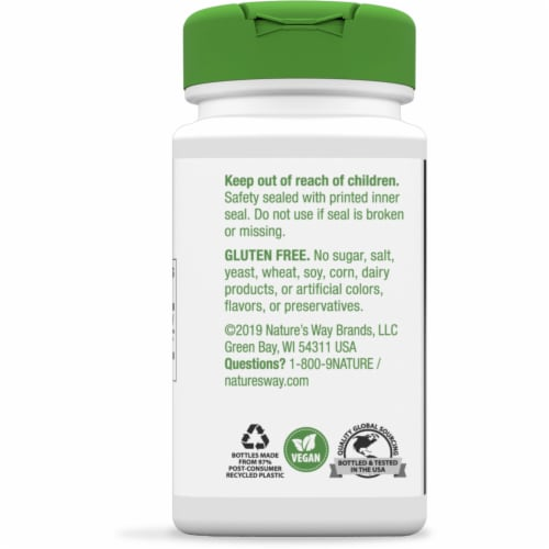 Nature's Way Fennel Seed Capsules 480 mg Perspective: back