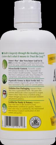 Nature's Way Aloe Vera Gel and Juice Perspective: back