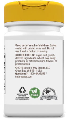 Nature's Way Biotin 1000 mcg Once Daily Energy Release Lozenges Perspective: back