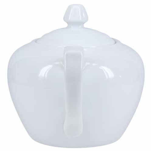 BIA Cordon Bleu Porcelain Teapot - White Perspective: back