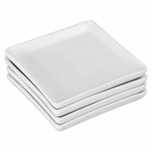 BIA Cordon Bleu Square Appetizer/Cheese/Dessert Plates Perspective: back