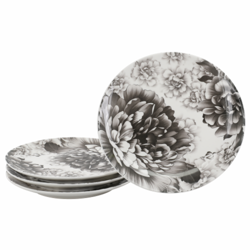 BIA Cordon Bleu Peony Dinnerware Set - Gray Perspective: back