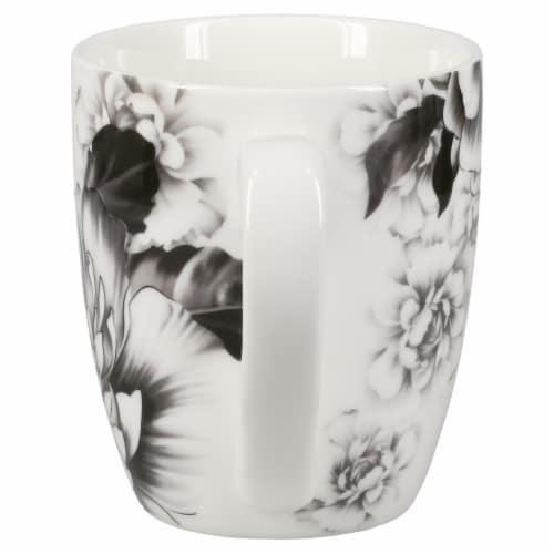 BIA Cordon Bleu Peony Mug Set - Gray Perspective: back