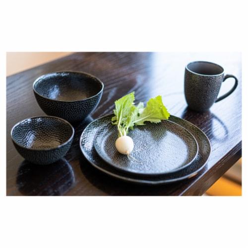 BIA Cordon Bleu Serene Dinner Plates Set - Black Perspective: back