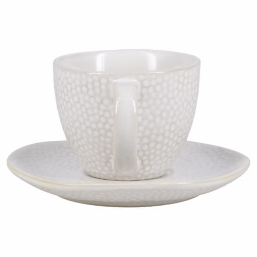 BIA Cordon Bleu Serene Demitasse Cup and Saucer Set - Crème Perspective: back