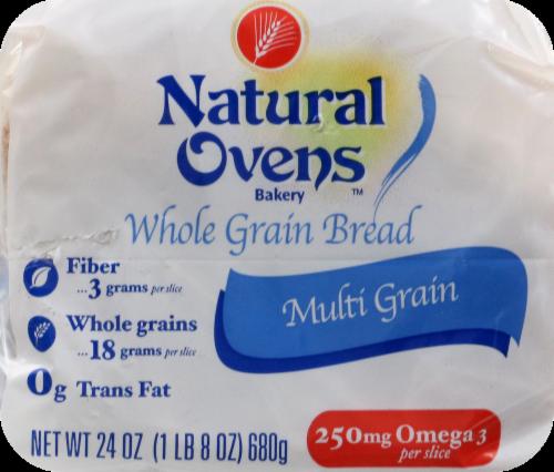 Natural Ovens Bread Multi-Grain Perspective: back