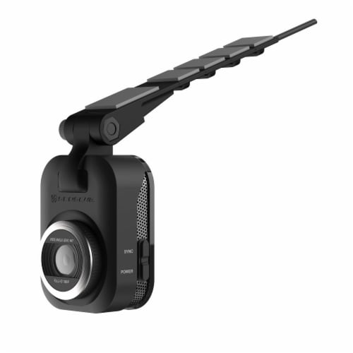 Scosche Full HD Smart Dash Cam with Adhesive Mount - Black Perspective: back