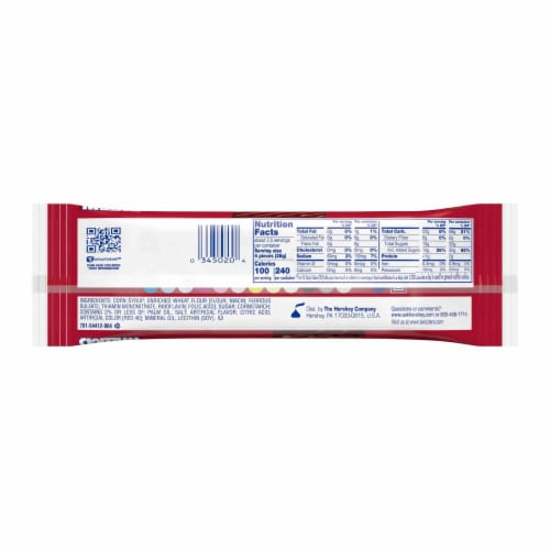 Twizzlers Twists Strawberry Liquorice 2.5 oz. - Case Of: 18; Perspective: back