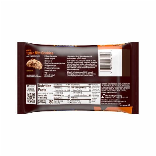 Heath Milk Chocolate English Toffee Bits Perspective: back