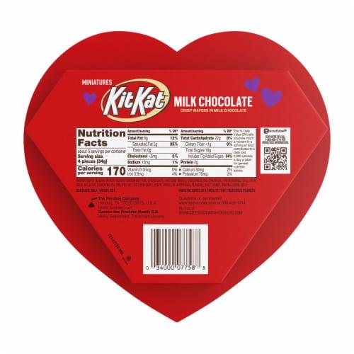 KIT KAT Valentine's Miniatures Heart Box Perspective: back