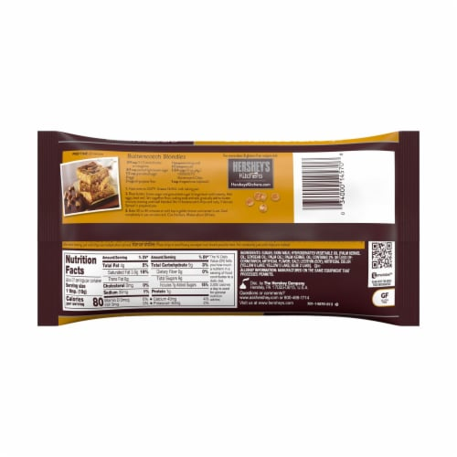 Hershey's Kitchens Butterscotch Chips Perspective: back