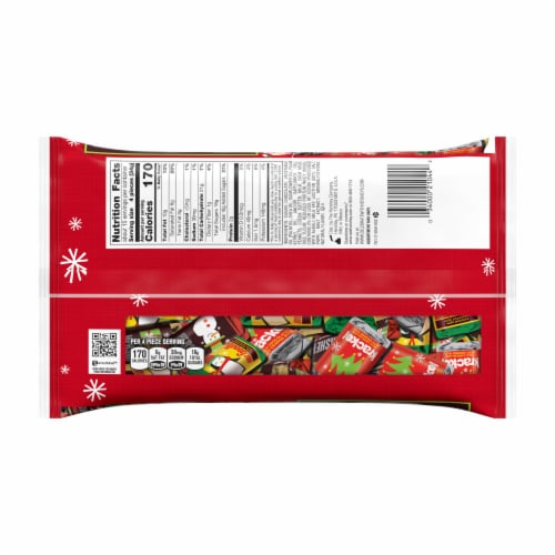 Hershey's Miniatures Holiday Candy Assortment Perspective: back