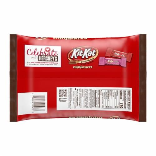 Kit Kat Valentine's Miniatures Milk Chocolate Candy Perspective: back