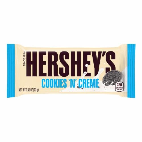 Hershey's Cookies 'n' Creme Standard Bar Box Perspective: back