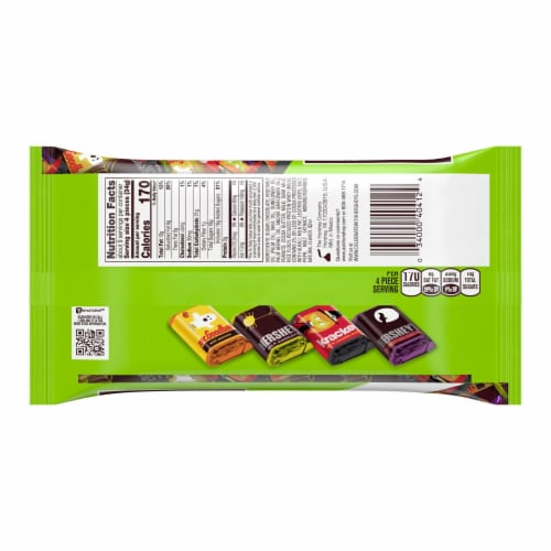 Hershey's Miniatures Assorted Chocolate Candy Perspective: back