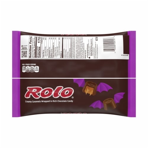 ROLO® Chocolate Caramel Candies Halloween Candy Perspective: back