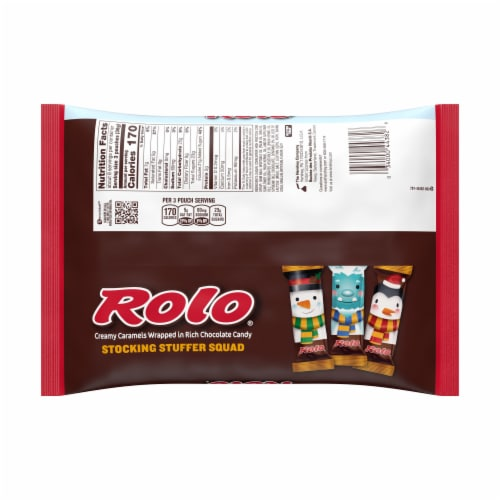 Rolo Stocking Stuffer Squad Creamy Caramel Chocolate Candy Perspective: back